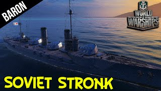 Video Soviet Stronk! - World of Warships Russian Battleship download MP3, 3GP, MP4, WEBM, AVI, FLV Juni 2018