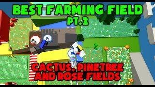 Best Farming Field PT.2 - SECRET ENTRANCE?? - Roblox Bee Swarm Simulator