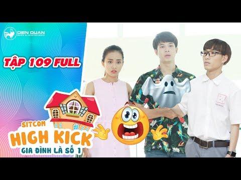"""Gia đình là số 1 sitcom   tập 109 full: Kim Long, Yumi sợ xanh mặt mày  vì gặp """"ma"""" tại trường học"""