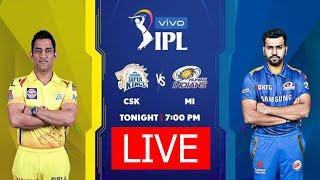 IPL 2020 LIVE | CSK Vs MI - Match 01 | Chennai Super Kings Vs Mumbai Indians LIVE Score | TAMIL