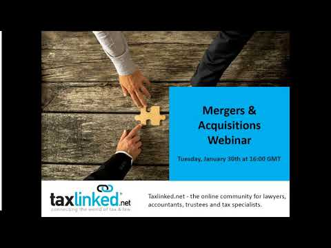 Current Trends in Mergers Acquisitions (January 2018)