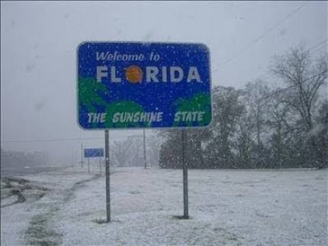 SNOW FALL IN FLORIDA