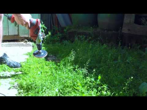 видео: Триммер за 2 минуты газонокасилка