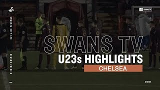 Highlights Chelsea U23s 0 Swans U23s 2