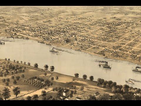 Jefferson City Missouri History and Cartography (1869)