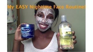 My EASY Nightime Face Routine!