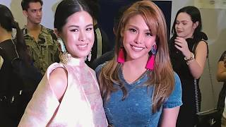 Kisses Delavin and Kapuso Celebrities in a Fashion Event