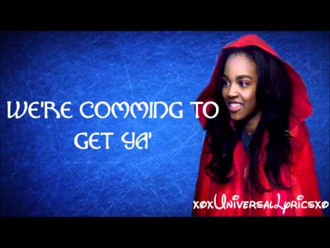 china anne mcclain-calling all the monsters (lyrics)