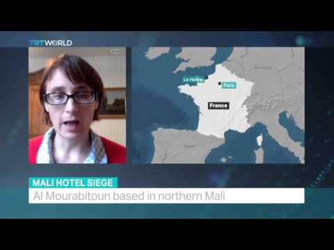 TRT World - Interview with Marie Rodet about current security situation in Mali