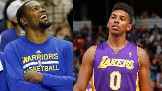 Kevin Durant ROASTS Nick Young After Warriors Sign Him