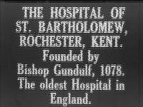 The hospital of St. Bartholomew, Rochester, Kent (1929)