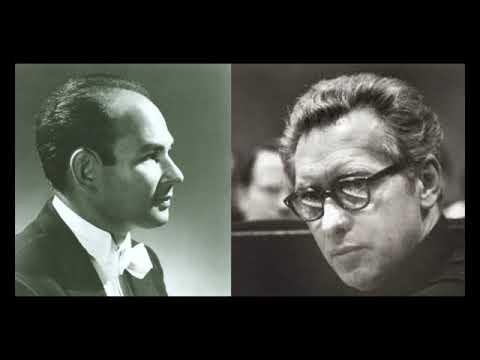Brahms - Irwin Hoffman & Geza Anda (1968, live) Piano concerto n°2 op. 83