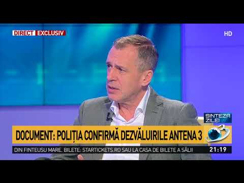 Document: Poliția confirmă dezvăluirile Antena 3