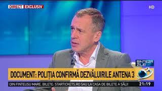 Baixar Document: Poliția confirmă dezvăluirile Antena 3