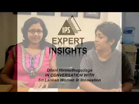 Dilani Hirimuthugodage in Conversation with Sri Lankan Women in Innovation