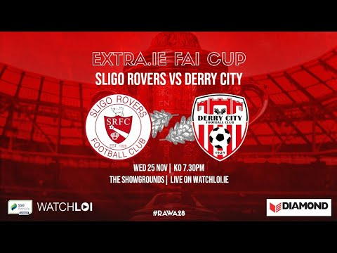 Sligo Rovers Derry City Goals And Highlights