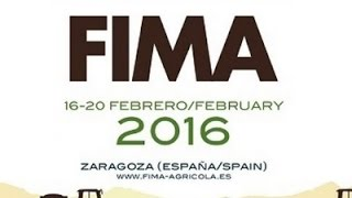 FIMA 2016 Zaragoza  //  International Fair of Agricultural Machinery in Zaragoza (Spain)