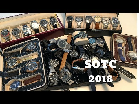 SOTC - My Watch Collection Spring 2018 - From Rolex to Orient