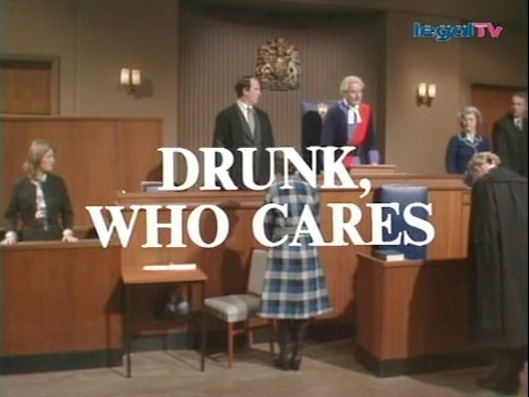 Crown Court - Drunk, Who Cares? (1976)