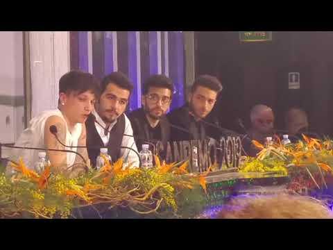 #Sanremo2019 Ultimo (secondo classificato) in polemica con i giornalisti