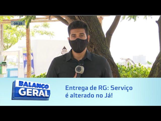 Entrega de RG: Serviço é alterado no Já! do Shopping Pátio