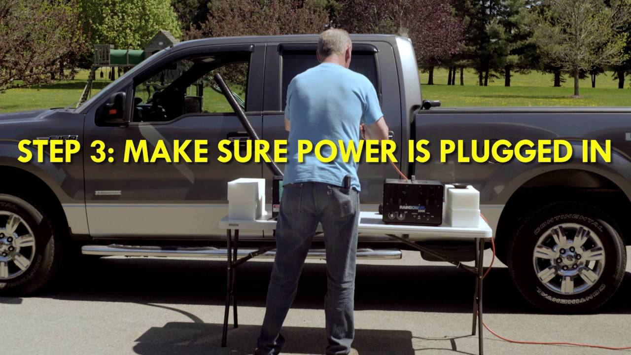 How to Remove Odors from a Single Vehicle Using the Rainbowair 1000 Ozone  Generator