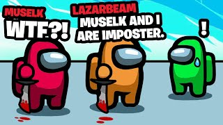 How Lazarbeam admitted we were imposter AND WON!