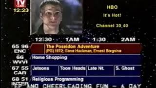 TV Guide Channel footage (April 10, 1996)