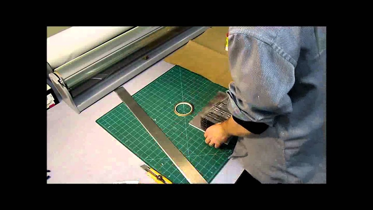 Mounting A Photograph On Foam Core For