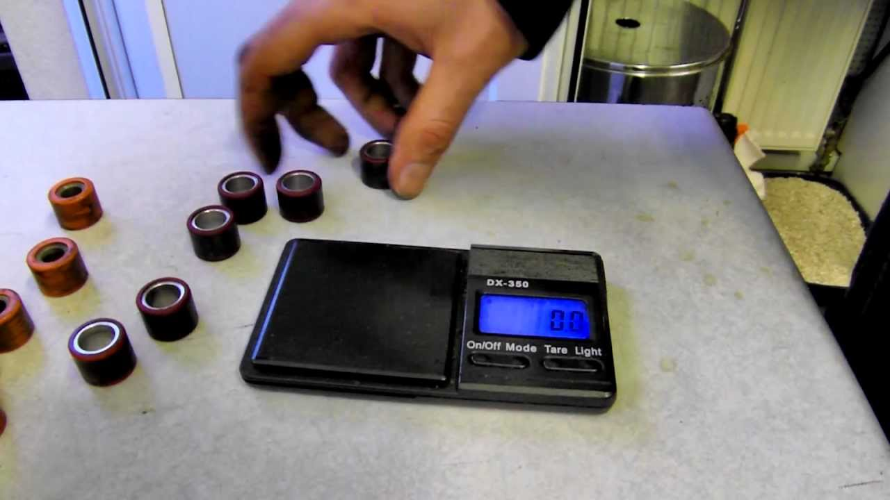 ScooterNations - Measuring Roller Weights and Tips!