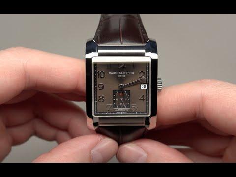 8943fa198 BAUME & MERCIER HAMPTON MEN'S WATCH REVIEW MODEL: MOA10028 - YouTube