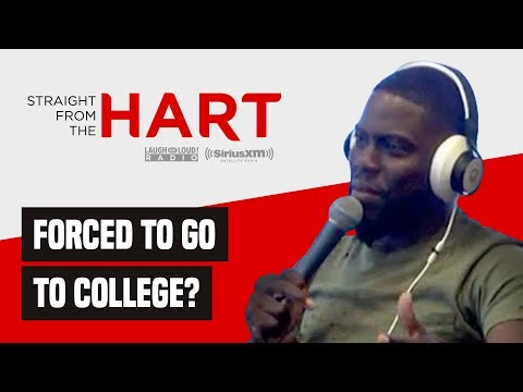 Kevin Hart Talks Sending Kids To College   Straight From The Hart   Laugh Out Loud Network