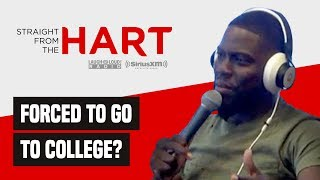 Kevin Hart Talks Sending Kids To College | Straight From The Hart Podcast | LOL Network