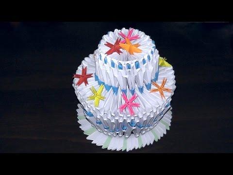 Модульное оригами праздничный