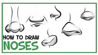 How To Draw Noses: CARTOONING 101 #5