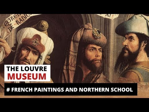 Louvre museum French and Northerns school paintings