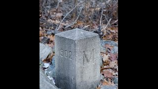 Mason Dixon line survey marker #208 ... where and how to get there on Route 40 in PA