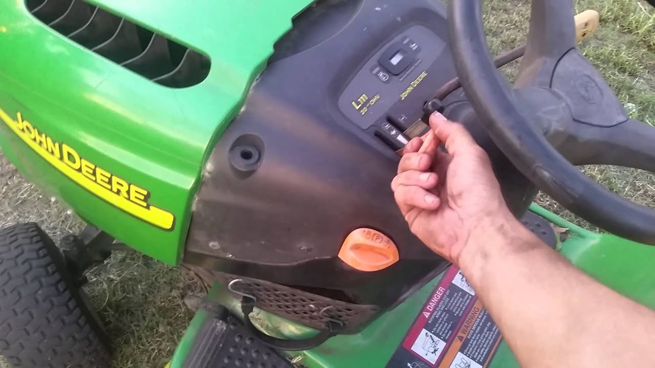 John Deere L100 Troubleshooting Gallery - Free Troubleshooting ...
