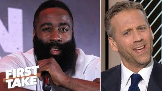 What is James Harden complaining about? – Max Kellerman | First Take