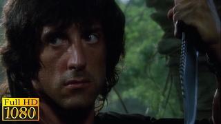 Rambo First Blood 2 (1985) - Rambo Meets Co Scene (1080p) FULL HD