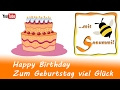 Singen mit Sasummi - Happy Birthday / Zum Geburtstag viel Glück - Gitarre mit Akkorden