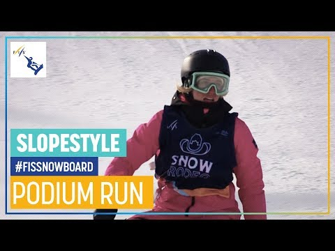 Laurie Blouin | Women's Slopestyle | Calgary | 1st place | FIS Snowboard