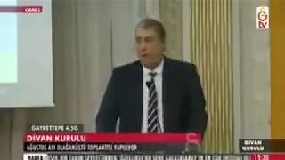 Galatasaray Divan Kurulu Karıştı | Levent Nazifoğlu: ''Terbiyesiz sensin ulan ! ''