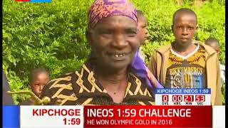 Eliud Kipochoge\'s parents hopeful that their son will carry the day by breaking the INEOS159 challenge