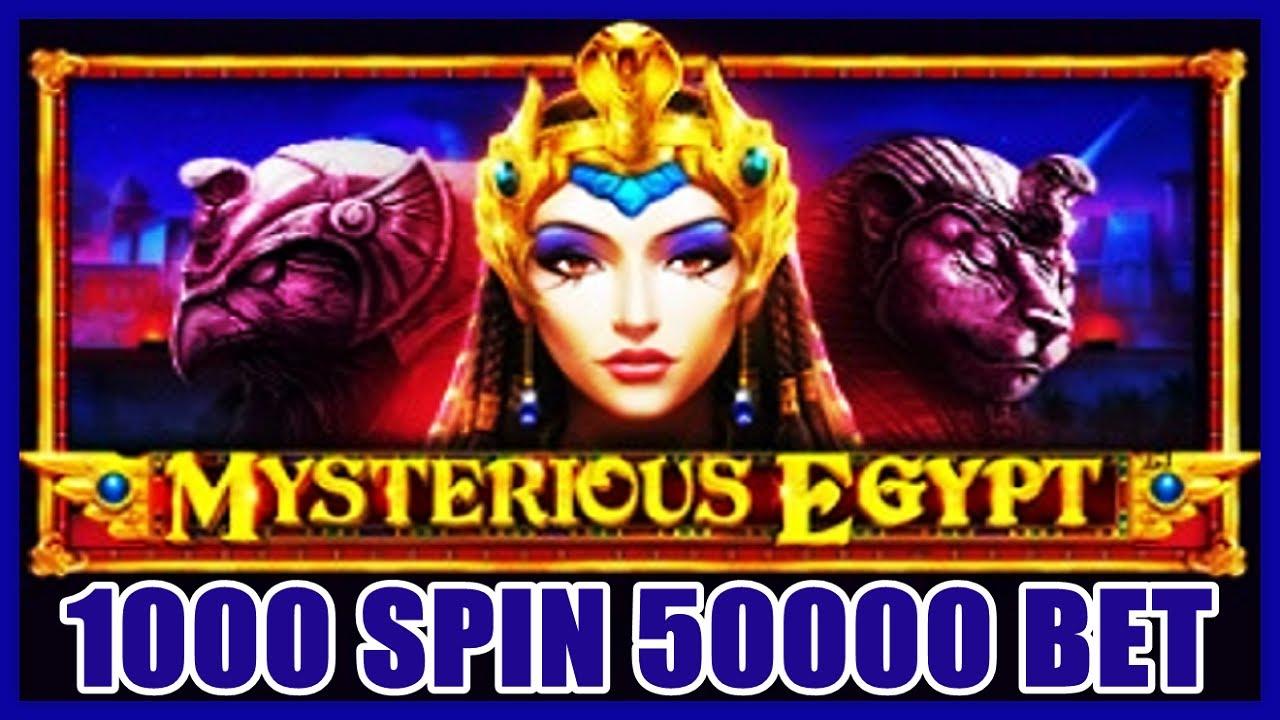 [슬롯머신] MYSTERIOUS EGYPT – 1000 SPIN KRW 50,000 BET