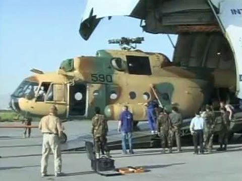 Afghans Receive New Mi-17 Helicopters