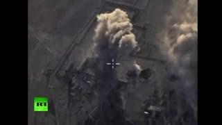 Самолеты ВКС РФ дальней авиации нанесли удары по позициям боевиков ИГ близ Пальмиры(Самолеты ВКС РФ, вылетевшие с аэродромов базирования на территории Российской Федерации, нанесли удары..., 2016-07-14T12:23:50.000Z)