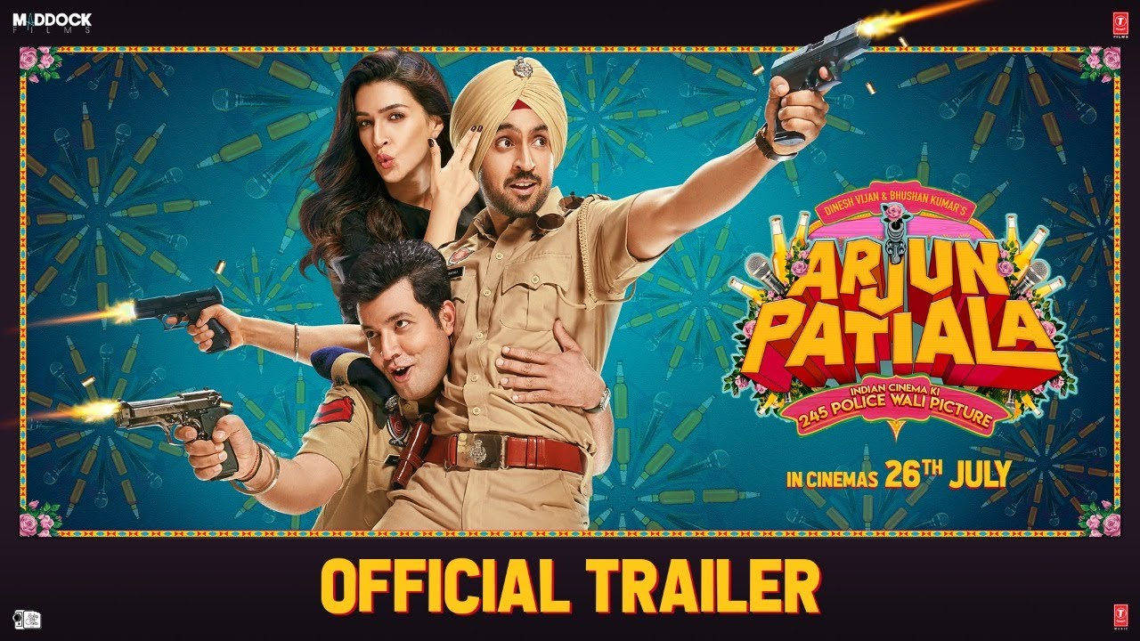 Arjun Patiala new song out  Diljit Dosanjh can't take his