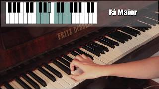 Como decorar as escalas no teclado/piano - MÉTODO VISUAL