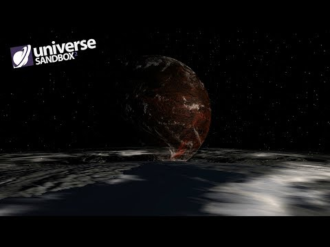 What If A Second Earth With A 364 Day Orbit Existed, Universe Sandbox ²
